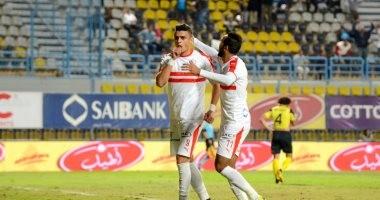 عمر السعيد يتوج بلقب أفضل لاعب فى مباراة الزمالك ووادى دجلة