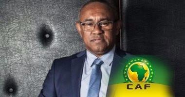 رئيس الكاف يغادر القاهرة متوجهاً إلى المغرب