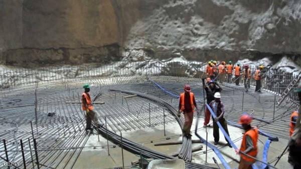 عمال بناء مشروع سد النهضة يفاجئون الحكومة الإثيوبية بإجراء جديد
