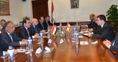 وزير الطاقة اللبنانى يبدى رغبة بلاده فى استئناف ضخ الغاز المصرى
