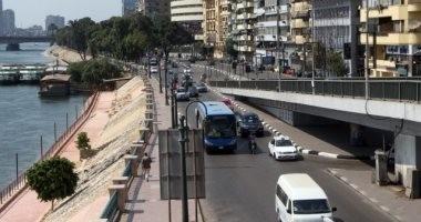 النشرة المرورية.. انتظام الحركة بمحاور وميادين القاهرة والجيزة