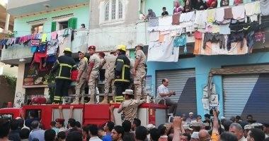 صور.. تشييع جنازة الشهيد إبراهيم المنيسى بمسقط رأسه فى الغربية