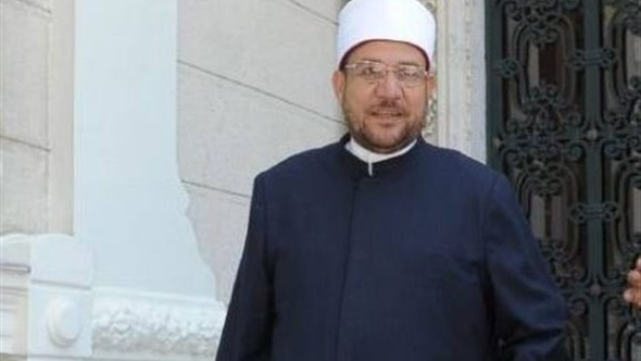 وزير الأوقاف يلقى خطبة الجمعة برأس غارب