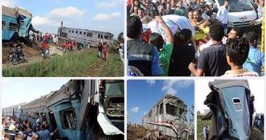 وزير الصحة: معظم مصابى حادث قطارى الإسكندرية غادروا المستشفيات