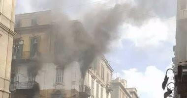 انتداب الأدلة الجنائية لمعاينة حريق بالمتحف الرومانى فى الإسكندرية