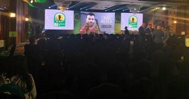 تجهيزات قاعة حفل قرعة دوري أبطال أفريقيا والكونفدرالية.. فيديو وصور