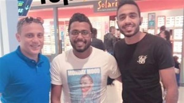 حقيقة انتقال محمود كهربا للأهلي.. صورة بصحبة زوج ابنة الخطيب تثير التساؤلات