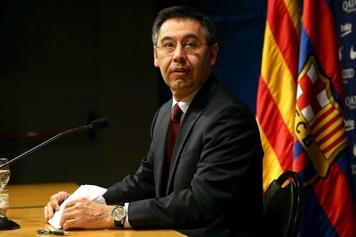 رئيس برشلونة: لا يمكن تفسير الهدف الرابع لليفربول