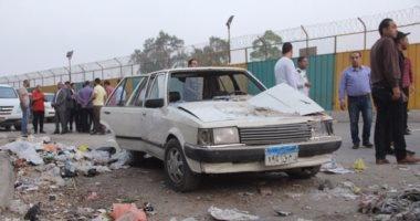 """تحقيقات """"انفجار جسر السويس"""": سائق """"كارو"""" أنقذ القوة الأمنية لتوقفه فجأة"""