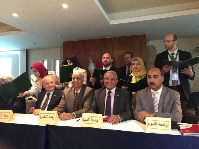 بروتوكول بين الشبكة القومية للسرطان وجامعة المنيا