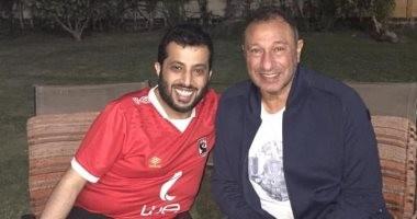 الخطيب وتركي آل الشيخ يجتمعان مجددا بعد عودة رئيس الأهلى من باريس