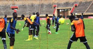مجموعة مصر.. بالصور.. منتخب أوغندا ينهى استعداداته لمواجهة الكونغو