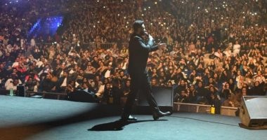 """""""حالة حب"""".. تامر حسنى يقدم حفلاً رائعاً فى جدة.. صور"""