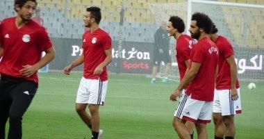 في التدريب الثالث ..المنتخب يطمئن على مروان والشناوي ويضع ملامح مباراة النيجر