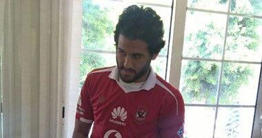 مروان محسن فى قائمة الأهلى لمباراة الإنتاج لأول مرة فى الموسم الحالى