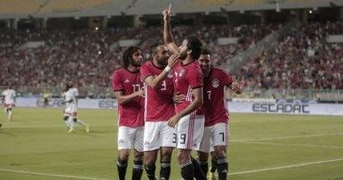 منتخب مصر يرفع رصيده إلى 4 أهداف فى النيجر بعد 75 دقيقة