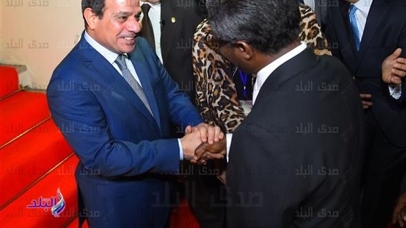 ننشر صور الرئيس السيسى لحظة وصوله لـ«غينيا الاستوائية» للمشاركة فى القمة العربية الأفريقية
