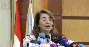 وزيرة التضامن: المرأة والأطفال هم أكثر من يعانى الإرهاب والعنف