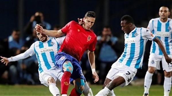 ترتيب مباريات النادي الأهلى فى الدور الأول للدورى موسم 2019-2020