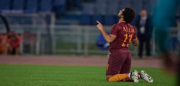 """هدفان لصلاح """"المتألق"""" في مباراة روما أمام فريق """"الذكريات"""""""