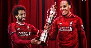 ليفربول يواصل الهيمنة على أفضل لاعب فى إنجلترا.. صلاح يسلم فان ديك
