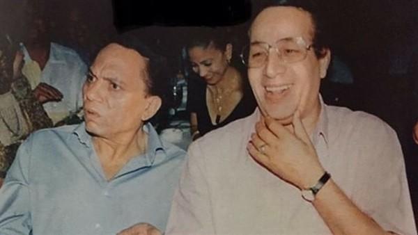عادل إمام ينشر صورة نادرة لـ سعيد صالح على إنستجرام.. شاهد