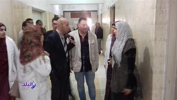 إحالة مدير مستشفى منيا القمح وممرضة للتحقيق