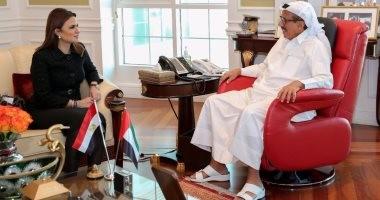 صور.. وزيرة الاستثمار تزور مجموعة الحبتور الإماراتية بدبي