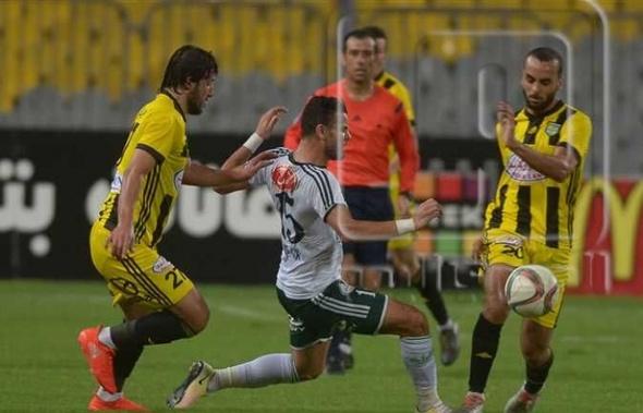 المصري يفوز على المقاولون العرب بهدفين لهدف في الدوري