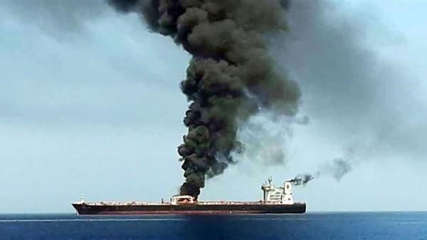 الشركة المشغلة للناقلة اليابانية: شاهدنا سفينة للجيش الإيراني الليلة الماضية
