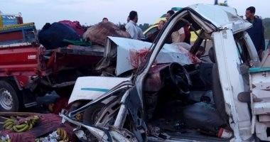 مصرع 3 أشخاص في حادثين بكفر الشيخ