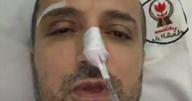 فى أول ظهور بعد الجراحة.. شريف مدكور: شكرا لكل الناس اللى دعتلى ورمضان كريم