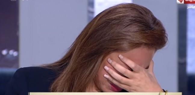 """ريهام سعيد تبكي على الهواء بسبب شريف مدكور: """"أنت مصدر الحب والقوة"""""""