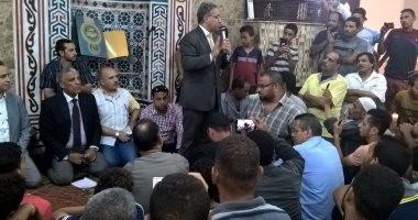 """النائب أحمد السجينى لأهالى الوراق: """"نوازن بين حق المواطن وأملاك الدولة"""""""