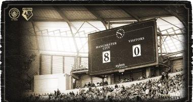 4 مباريات انتهت بنتيجة 8/0 قبل فوز مانشستر سيتي ضد واتفورد.. فيديو