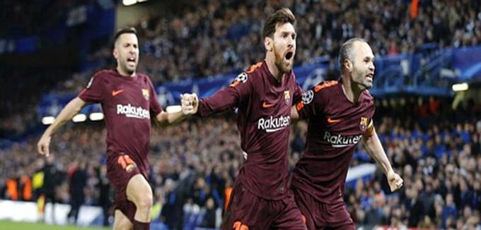 دوري الأبطال.. تشيلسي 1-1 برشلونة.. ميسي يتعادل