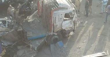 ننشر أسماء الوفيات والمصابين فى حادث المنيا