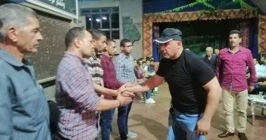"""نقيب الممثلين يوجه الشكر لـ""""أحمد عواض"""" بعد إقامة عزاء أبو الوفا بقصر ثقافة الفيوم"""