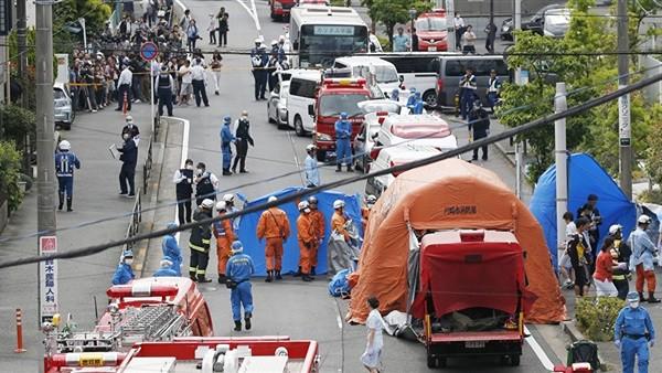 وسائل إعلام يابانية رسمية: قتيلان و17 مصابا فى عملية الطعن