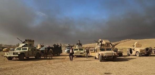 القوات العراقية تعلن تحرير مدينة نمرود التاريخية