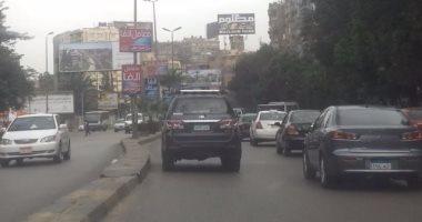 تحويلات مرورية بمحور التسعين بسبب إنشاء كوبرى محمد نجيب بالتجمع الخامس