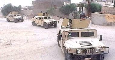 أول فيديو لتصدى الجيش الثانى لعملية إرهابية قبل استهدافها كمين بشمال سيناء