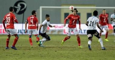 """الأهلى يفوز على الداخلية 3 /1.. ويتساوي مع بيراميز فى النقاط """"فيديو"""""""