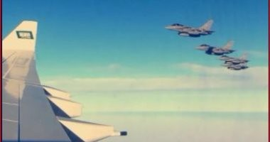 بدر العساكر: طائرات حربية تستقبل طائرة ولى العهد أثناء دخوله الأجواء المصرية