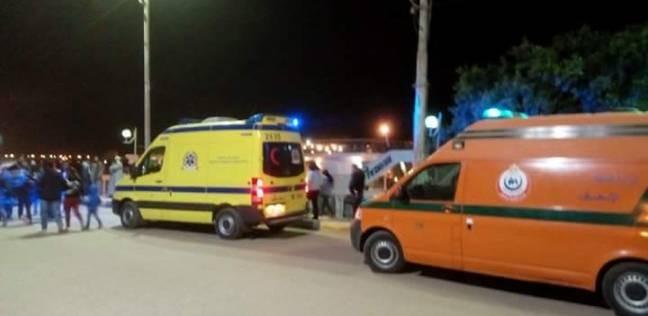 مصرع عامل في حادث تصادم بين دراجتين بخاريتين في الفيوم