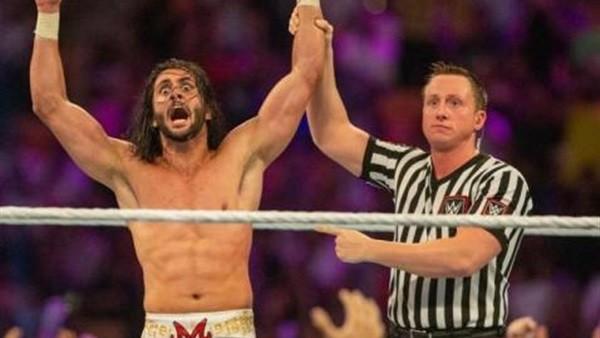 المصارع السعودي منصور الشهيل بطلًا لبطولة WWE .. فيديو