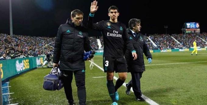 مدافع ريال مدريد يغيب عن موقعة السوبر الأوروبي أمام أتليتكو