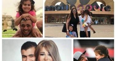 بعد قرار الاعتزال.. 10 صور تجسد النصف الحلو فى حياة عماد متعب