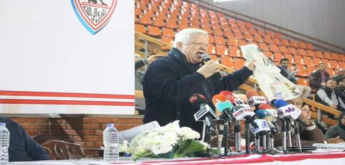 مرتضى منصور لوزير الشباب والرياضة: ابتعد عن الزمالك من أجل مواصلة الانتصارات