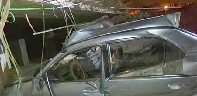 بالأسماء.. مصرع شخص وإصابة 20 في تصادم سيارتين شرقي الإسكندرية